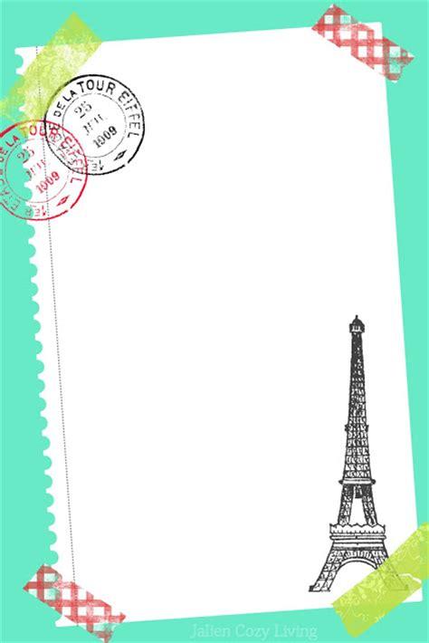 Burgemeesters Sturen Brief Naar Parijs Dalfsennet jalien cozy living diy briefpapier vakantie