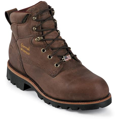 mens insulated boots s chippewa 174 6 quot waterproof 400 gram thinsulate ultra