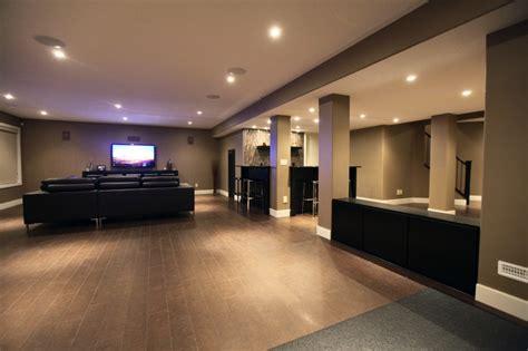 rothenberg basement development modern basement