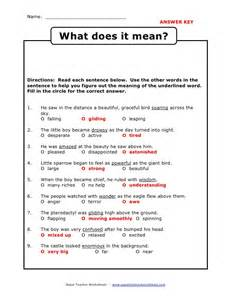 vocabulary using context clues worksheets abitlikethis