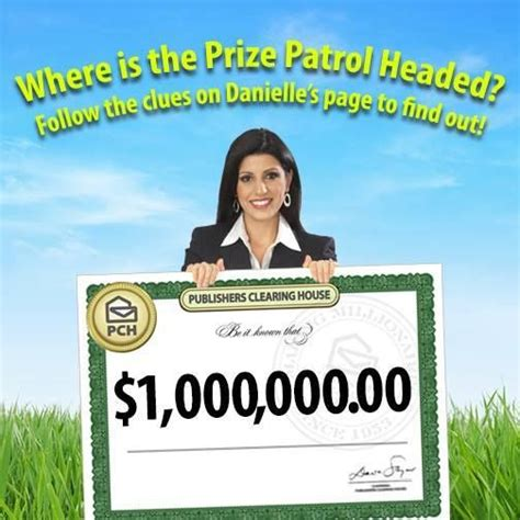 Pch Prize Patrol Location - the prize patrol has been dispatched and only danielle is giving clues about their