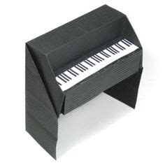How To Make A Paper Piano - origami on 71 pins