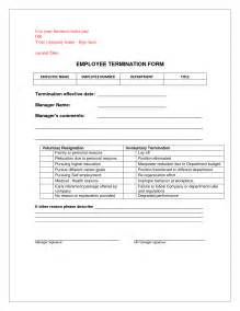 Termination Paperwork Template by Best Photos Of Printable Termination Form Free Printable Employee Termination Form Free