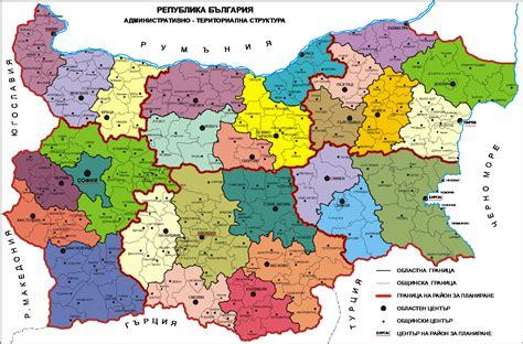 map of bulgaria impressum