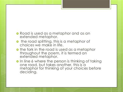 The Road Not Taken Analysis Essay by Robert The Road Not Taken Analysis Essay