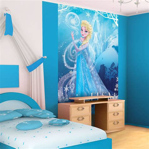 Frozen Wallpaper Decor | disney frozen elsa portrait photo wallpaper wall mural cn