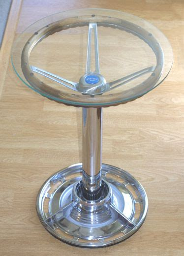 Steering Wheel Table by Steering Wheel Table For The Home
