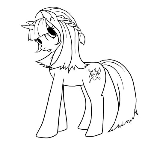 paint tool sai tutorial mlp my pony paint pencil and in color my