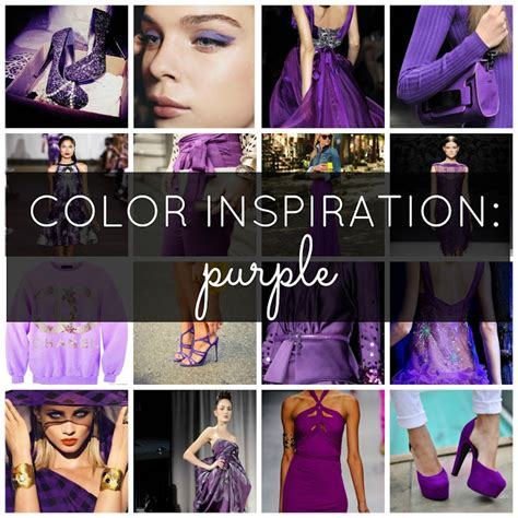 color inspiration purple variations the big brown
