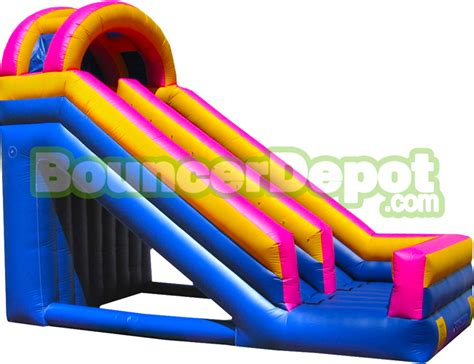 backyard blow up water slides outdoor blow up slides 20 feet single lane outdoor