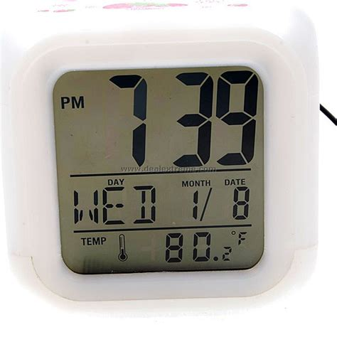 large display moodicare digital desktop alarm clock free shipping dealextreme