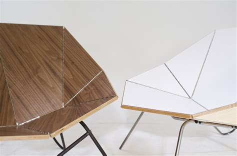 Origami Furniture - origami chair and flip shelf moco loco submissions