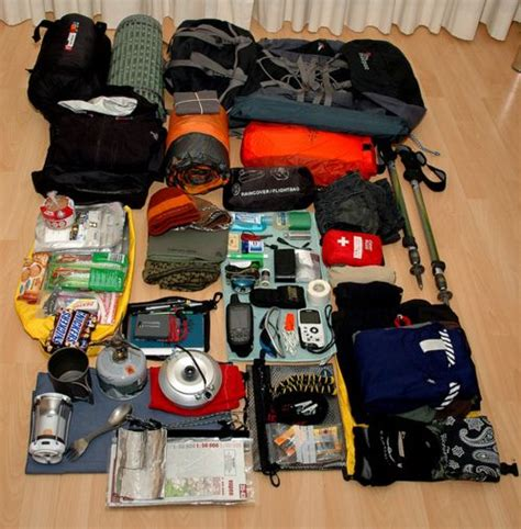 Bag Stuff Forester Backpack Hiking Gunung Cing Equipment Essential Items To Pack Junk Mail