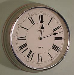 contemporary kitchen wall clocks modern chrome wall clock kitchen clock co