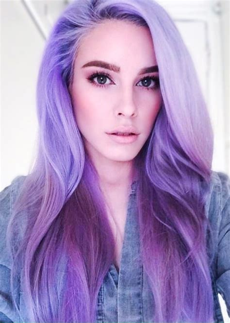 lilac hair color 871 best purple lavender violet lilac hair images on