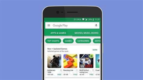 Play Store Home Screen Play Store Now Showing App Size On Home Screen To