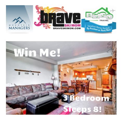 Great Colorado Giveaway - great giveaway a four night ski condo stay in summit county colorado the brave ski mom