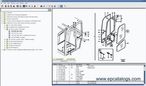 volvo prosis  spare parts catalog workshop manual