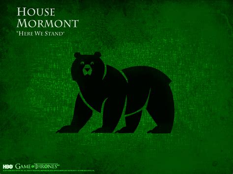 House Mormont by House Mormont Jorah Mormont Wallpaper 38121086 Fanpop