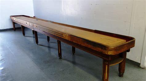antique shuffleboard table for sale vintage 22 custom deluxe shuffleboard table k53