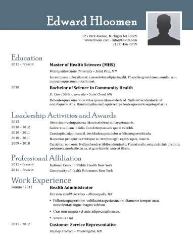 resume templates for openoffice free download