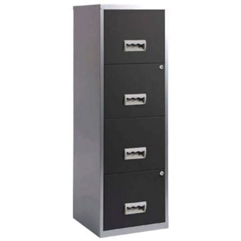 Staples 4 Drawer File Cabinet by 4 Drawer A4 Filing Cabinet Silver Black Staples 174