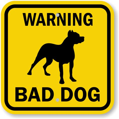 signs of in dogs bad sign warning signs unbeatable prices sku k 0131