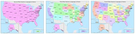 third most spoken language by state third most spoken language by state third most spoken