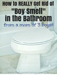How To Get Your To Use The Bathroom Outside by 1000 Ideas About Boy Bathroom Smell On White