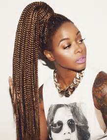 pony hair box braids top 20 all the rage looks with long box braids