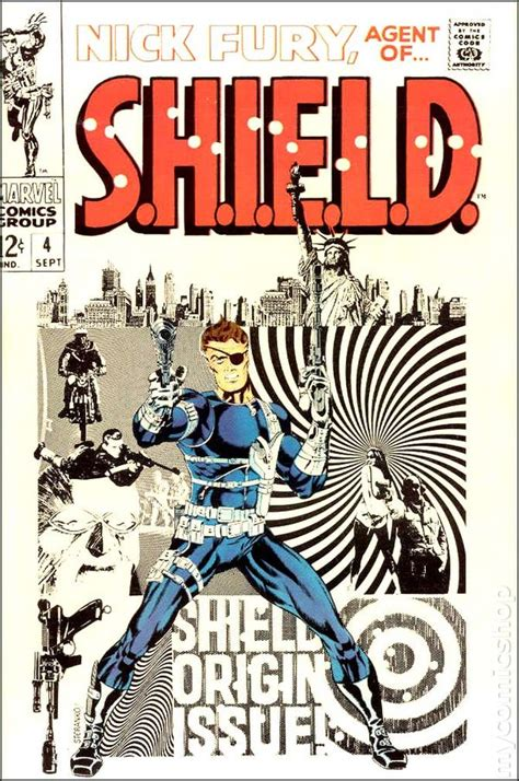 of fury books nick fury of shield 1968 1st series comic books
