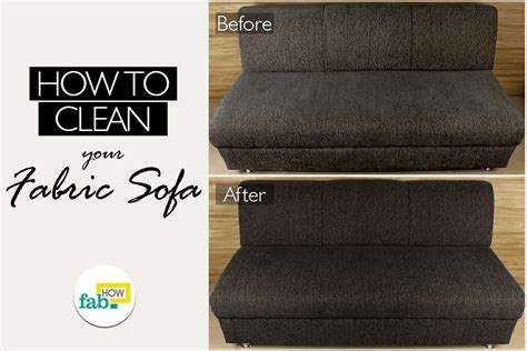 clean sofa fabric how to clean fabric sofa fab how