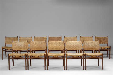 The Twelve Chairs by Jacksons Set Of Twelve Chairs Hans J Wegner