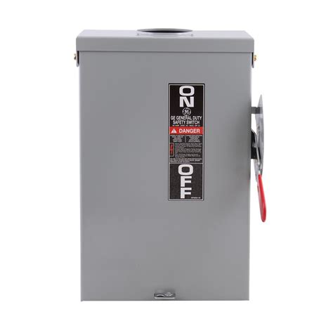 amp  volt electrical disconnect outdoor safety