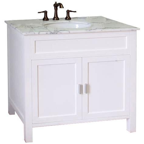 36 bath vanity with sink 36 inch single sink wood shaker vanity in bathroom vanities