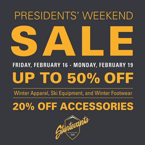 president s day weekend sale president s day weekend sale sturtevants