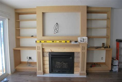 the living room a fireplace built in closet diy fireplaces