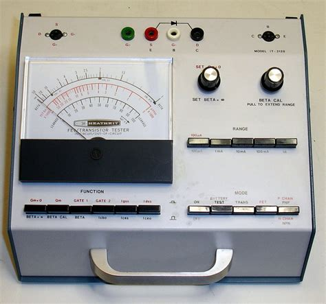 it 3120 vintage heathkit transistor fet diode tester sale help comments reviews