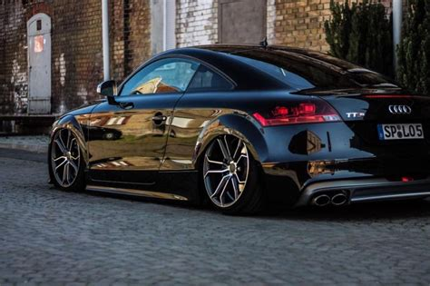 Audi Tts Tuning by 19 Zoll Advance Wheels Av3 0 Am Tiefen Audi Tts In Schwarz
