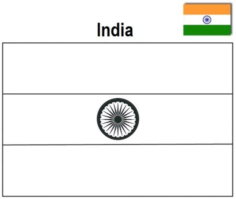 coloring page for indian flag geography blog india flag coloring page