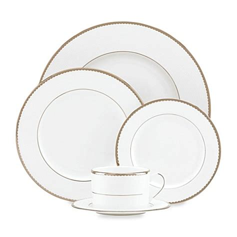 bed bath and beyond kate spade kate spade new york sugar pointe dinnerware collection