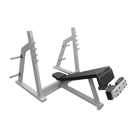 decline bench chest olympic decline chest press bensch 3a flame sport