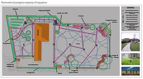 progetto impianto irrigazione giardino la progettazione di un impianto d irrigazione interrato