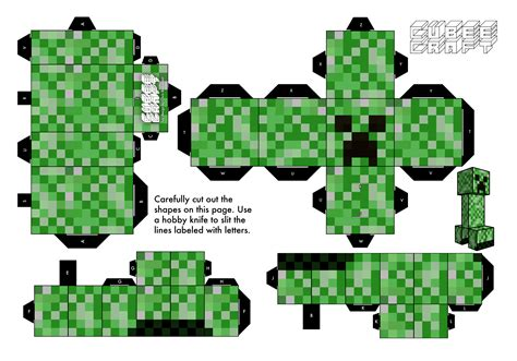 Papercraft Creeper - creepers papercraft creepers paper toys paper toys