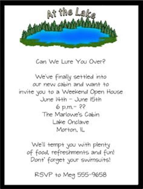 Housewarming Party Invitation Wording House Warming Invitation Templates Like It Pinterest Lake Invitation Templates Free