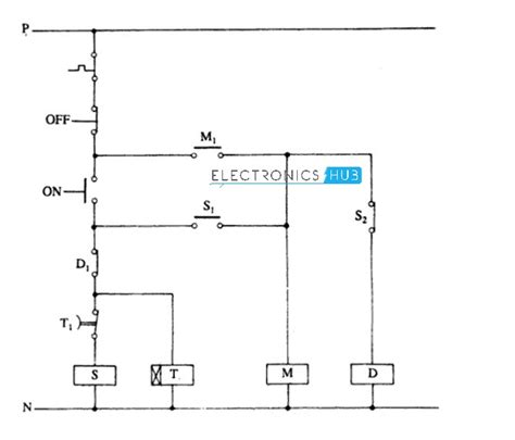 delta starter wiring diagram wiring diagram with description