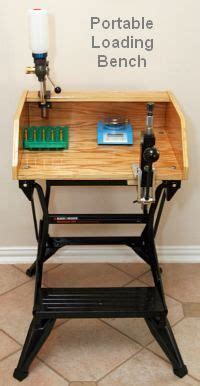 portable bench press home made tool stations portable reloading stand