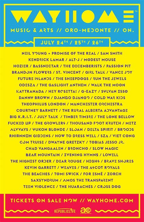 wayhome festival ticket giveaway dainty