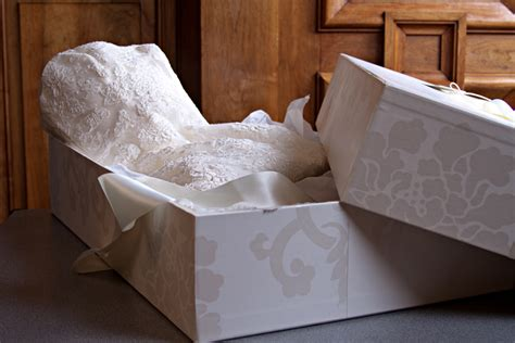 Wedding Dress Storage Box Wedding Dress Preservation Wedding Dress Cleaners Preservation Bridal Wear Boxing