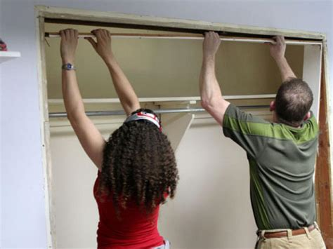 replace sliding closet doors hgtv